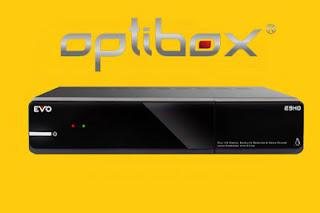 OPTIBOX EVO E3HD: NOVA ATUALIZAÇÃO Optibox