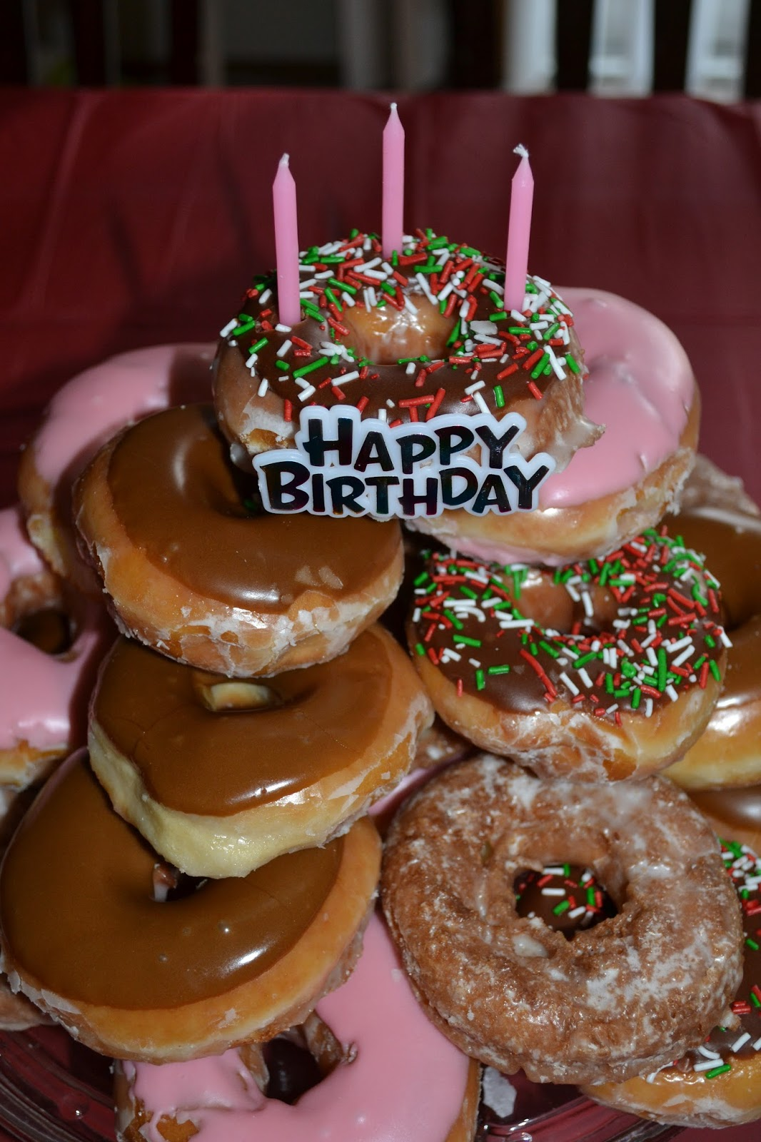 Money Saving Hack Forgo The Expensive Birthday Cake By Stacking Donuts Its Both Pretty And Costs A Fraction Of Price