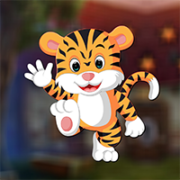 AvmGames Dancing Tiger Rescue Walkthrough
