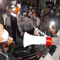 Angka Covid -19 Meningkat di Jakarta, Tiga Pilar Gambir Patroli Bubarkan Kerumunan