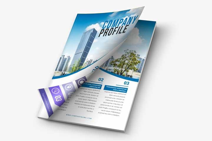 Percetakan Online Company profile di Bogor