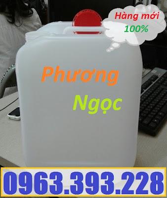 Can nhựa 10 lít, can nhựa đựng hóa chất, cannhựa HDPE, can nhựa có nắp garenty 10L3