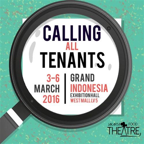 Bazaar - Jakarta Food Theatre Festival F&B Bazaar ( 3 - 6 ...