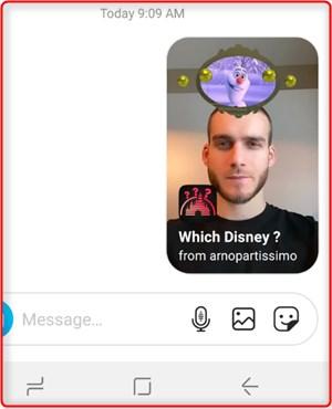 how to do disney filter instagram