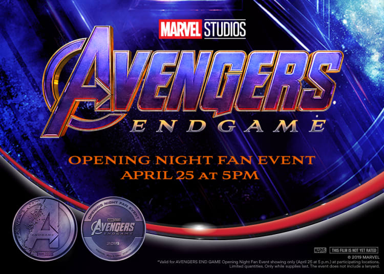 opening night fan event avengers endgame at an amc - 750×535