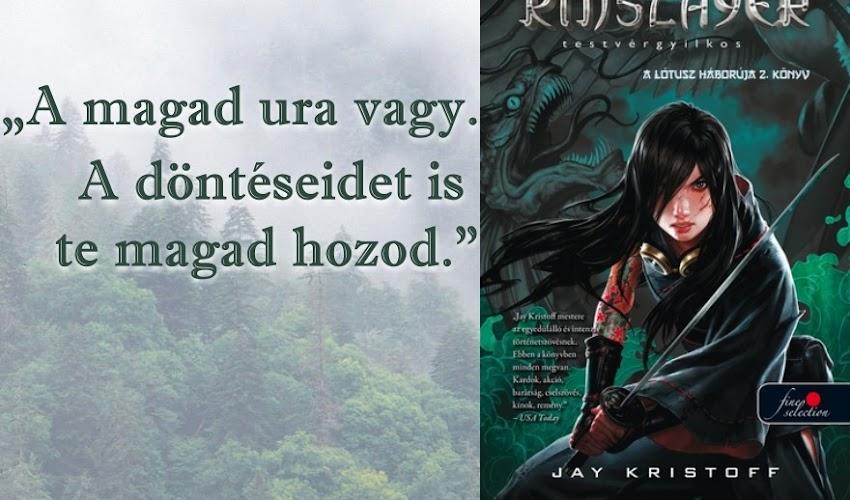 Jay Kristoff: Testvérgyilkos (A Lótusz háborúja 2.)
