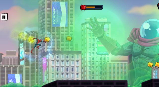 Spiderman Mysterio Rush