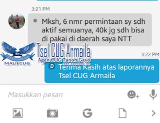 CUG Internet 2GB + SMS Nelpon Unlimited Cuma 40K Perbulan