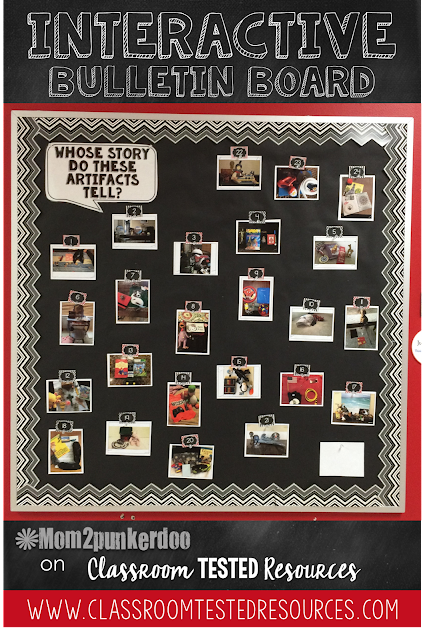 Spark inquiry in the classroom with this interactive bulletin board.