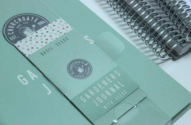 Gardeners Journal with Seeds Review