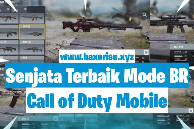 daftar senjata terbaik call of duty mobile