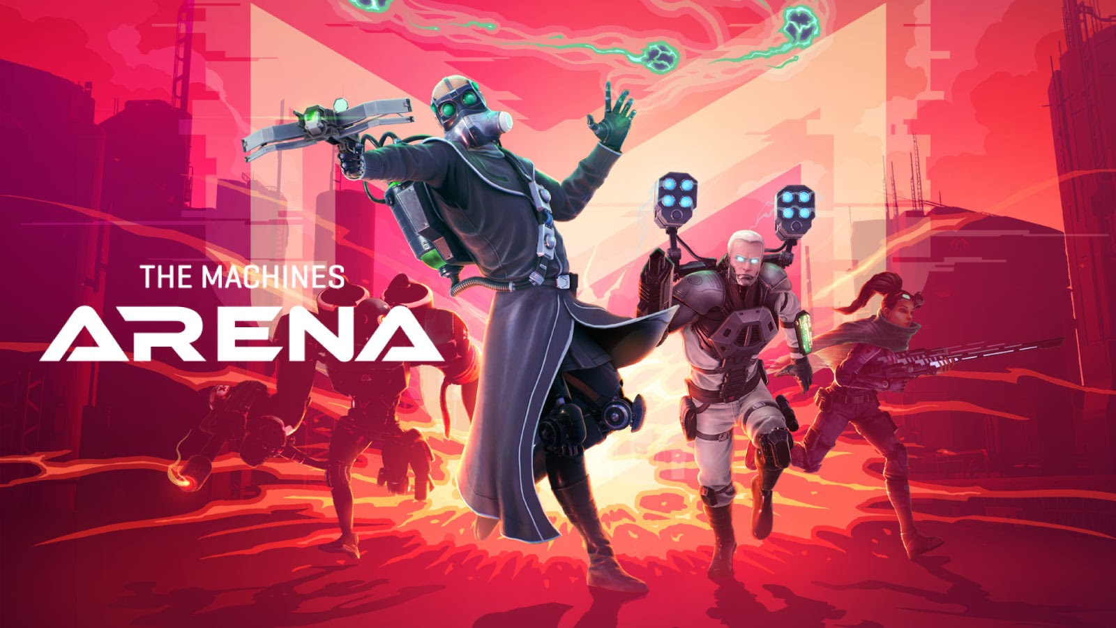 The Machines Arena - the next level in competitive hero shooters blasts into Steam Closed Beta Soon!