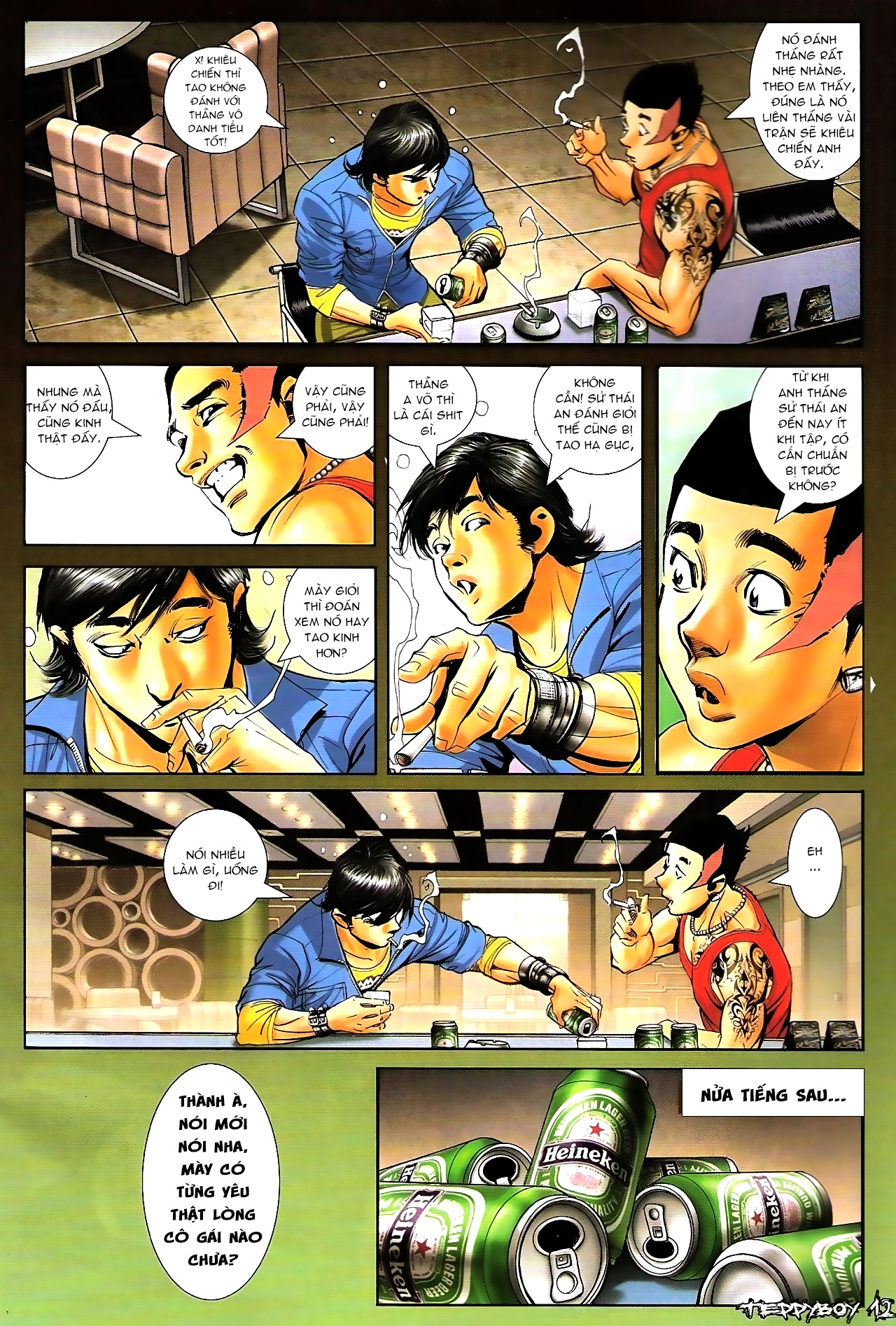 Người Trong Giang Hồ - Chapter 1298: Gục ngã - Pic 9