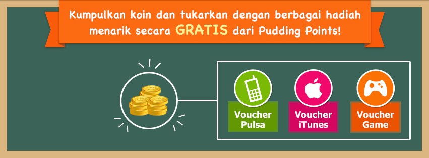 Aplikasi Pulsa Gratis Dari Android Pudding Points