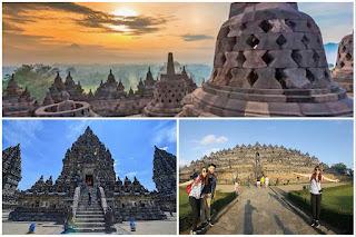 Borobudur Sunrise,  Prambanan Yogyakarta tour package 2 days
