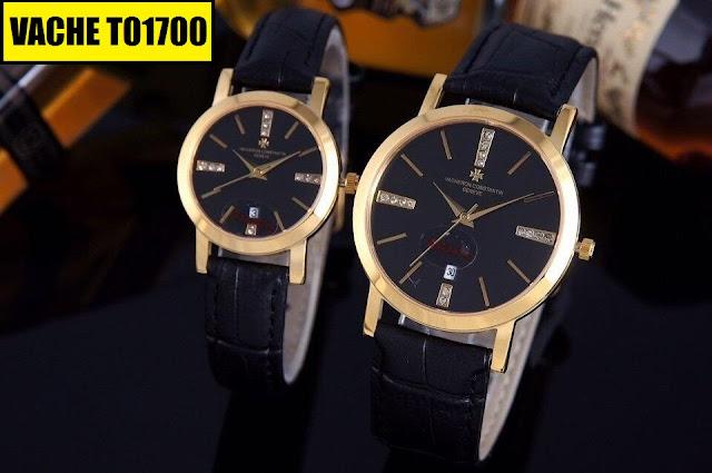 Đồng hồ dây da Vacheron T01700