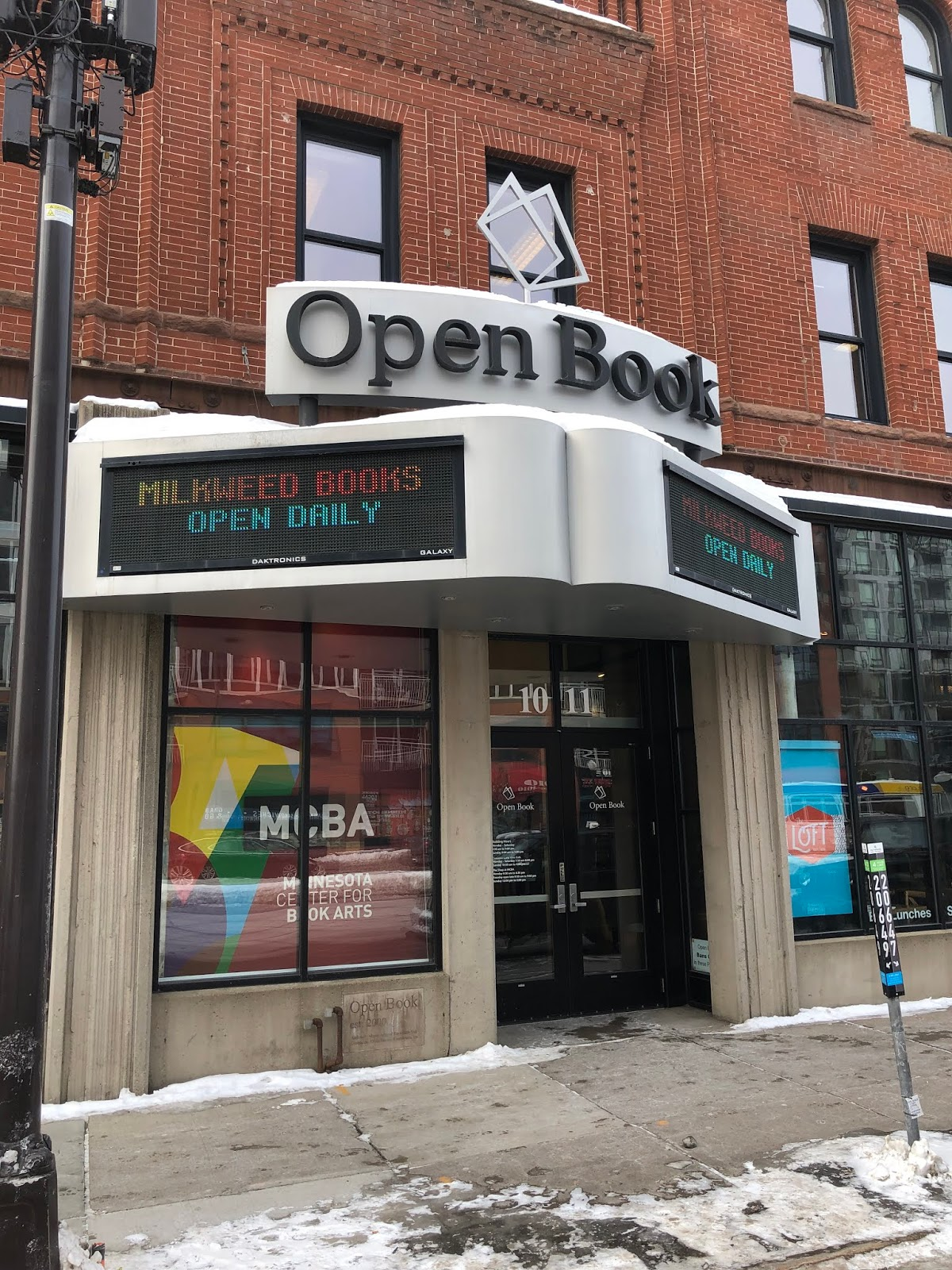 The Indie Bob Spot: Milkweed Books - Minneapolis, MN