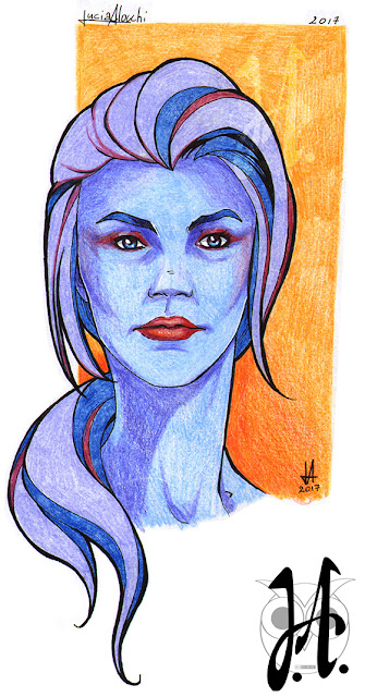 Blue-woman-lucia-alocchi-art-lucyowlart