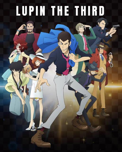 "Imagen promocional de la segunda parte de ""Lupin III Part 5""."
