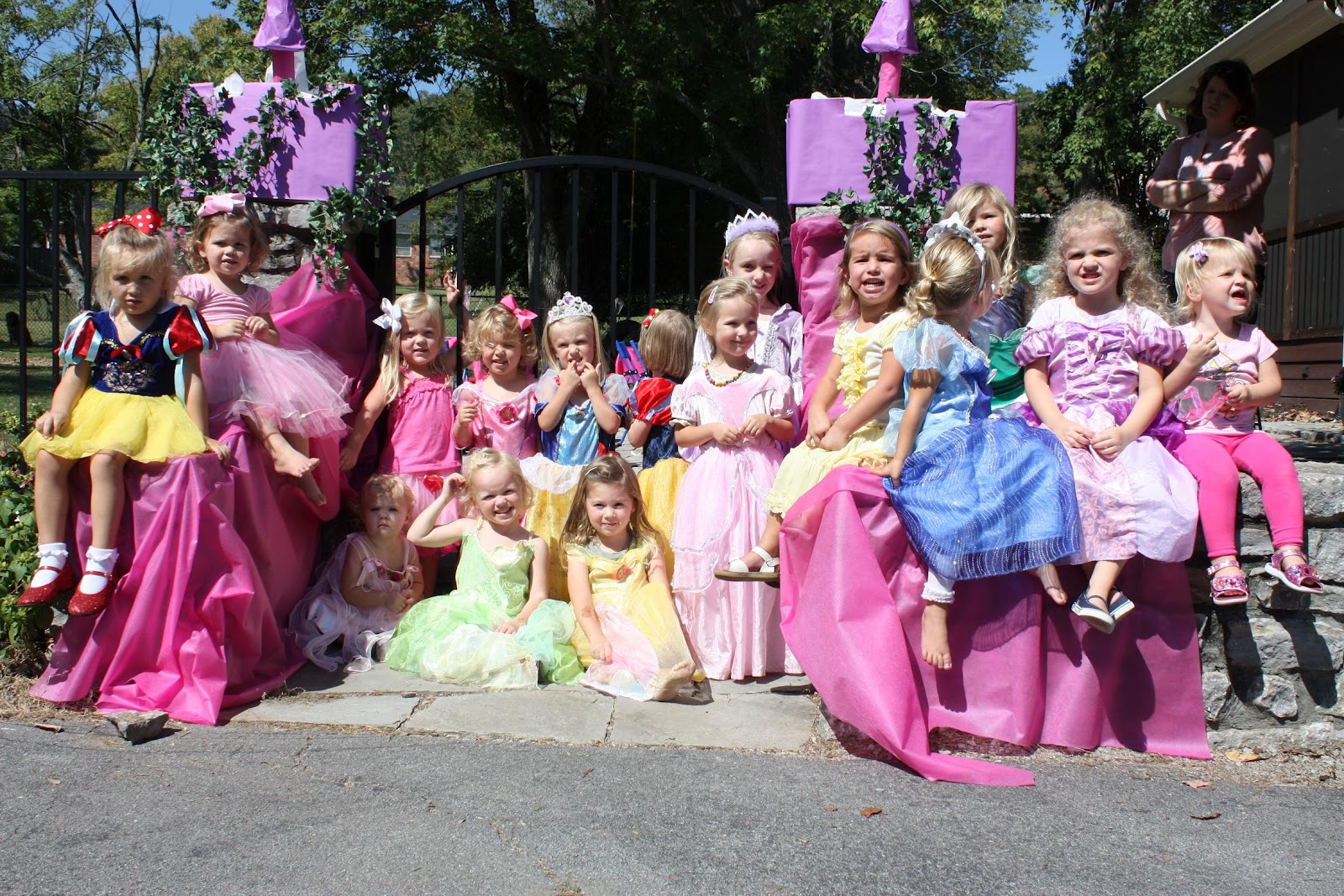 Two Boys And A Girl Princess Party