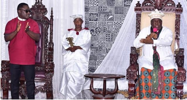 Obong of Calabar asks Ayade to step aside