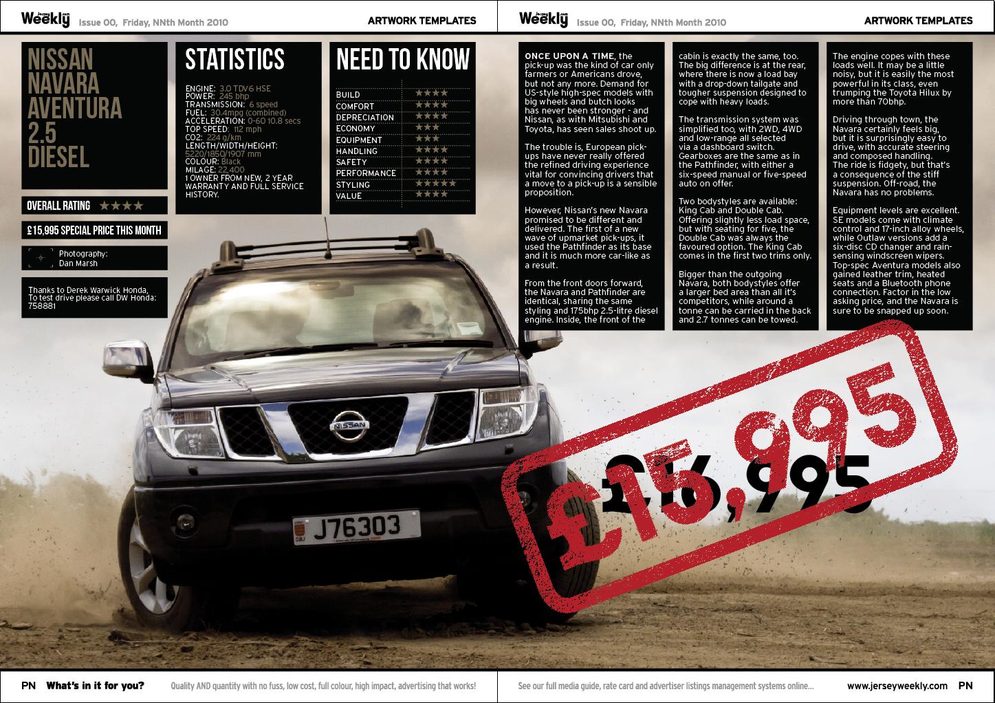 Jon Moore: Nissan Navara - Used Car #3