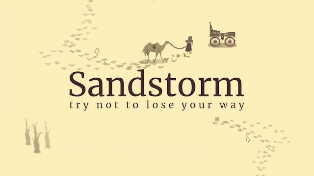 Sandstorm, perjalanan di tengah badai pasir.
