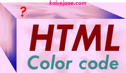 Html, code,color,kaise