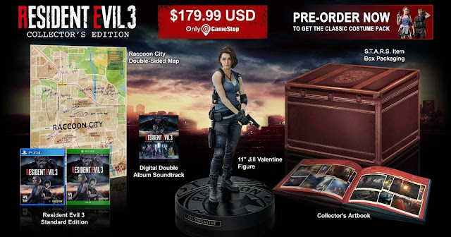 Collector Edition: Resident Evil 3 remake