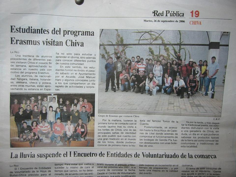 Chiva Valencia Spania