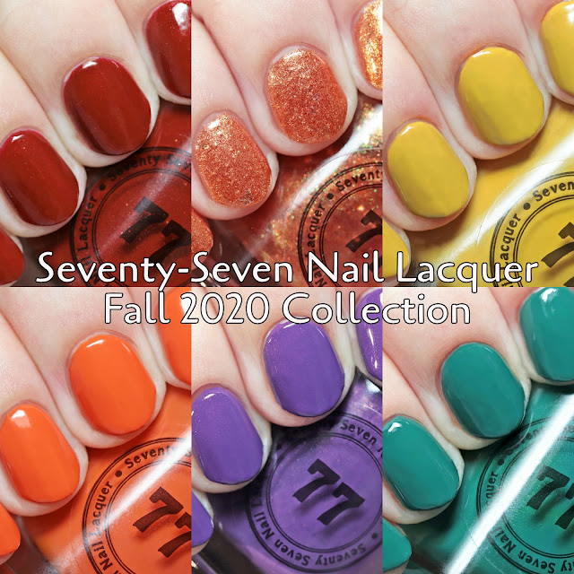 Seventy-Seven Nail Lacquer Fall 2020 Collection