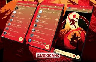 God Of War Theme For YOWhatsApp & GB WhatsApp By Mexiacano