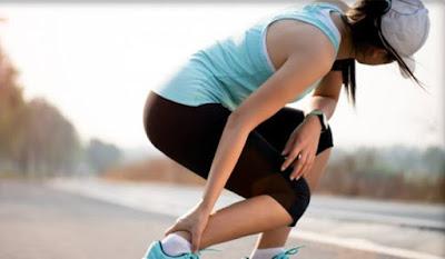 cara mengatasi kaki keseleo atau terkilir