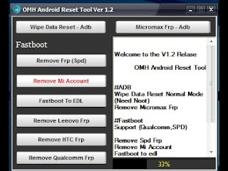 OMH Android Frp Reset Tool V3.0 Free Download