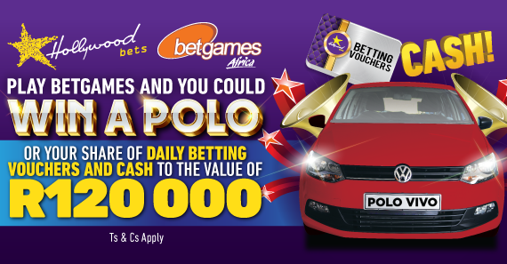 Stand a chance to win with Hollywoodbets and Betgames Africa