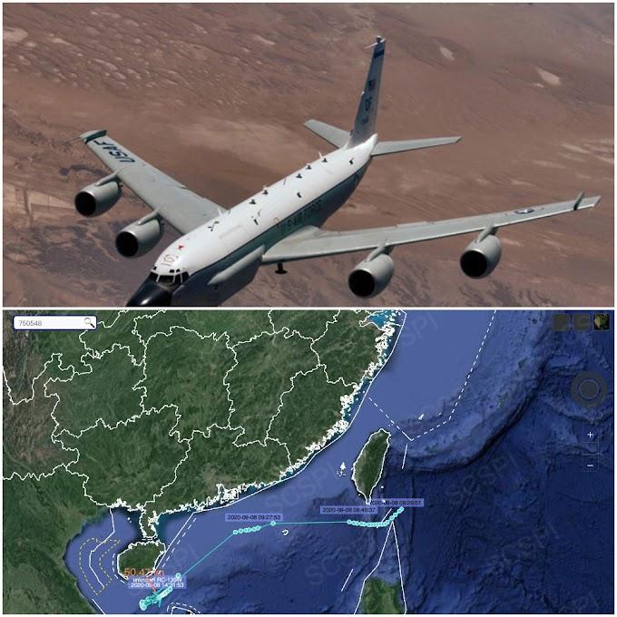 Pesawat US menyamar jadi sebagai pesawat Malaysia, intip China?