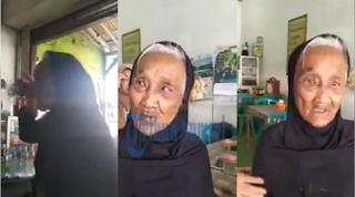 Kisah Malin Kundang si anak durhaka yang ada di dunia nyata kini sedang viral di dunia maya.