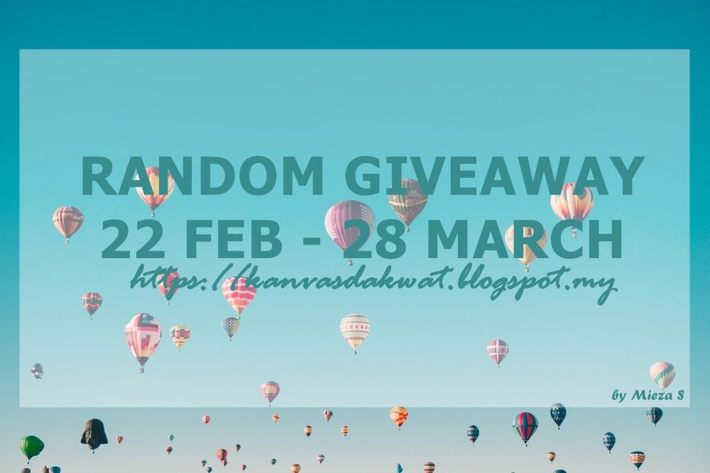 Random Giveaway by Mieza S