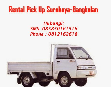 Rental Pick up Zebra Surabaya-Bangkalan
