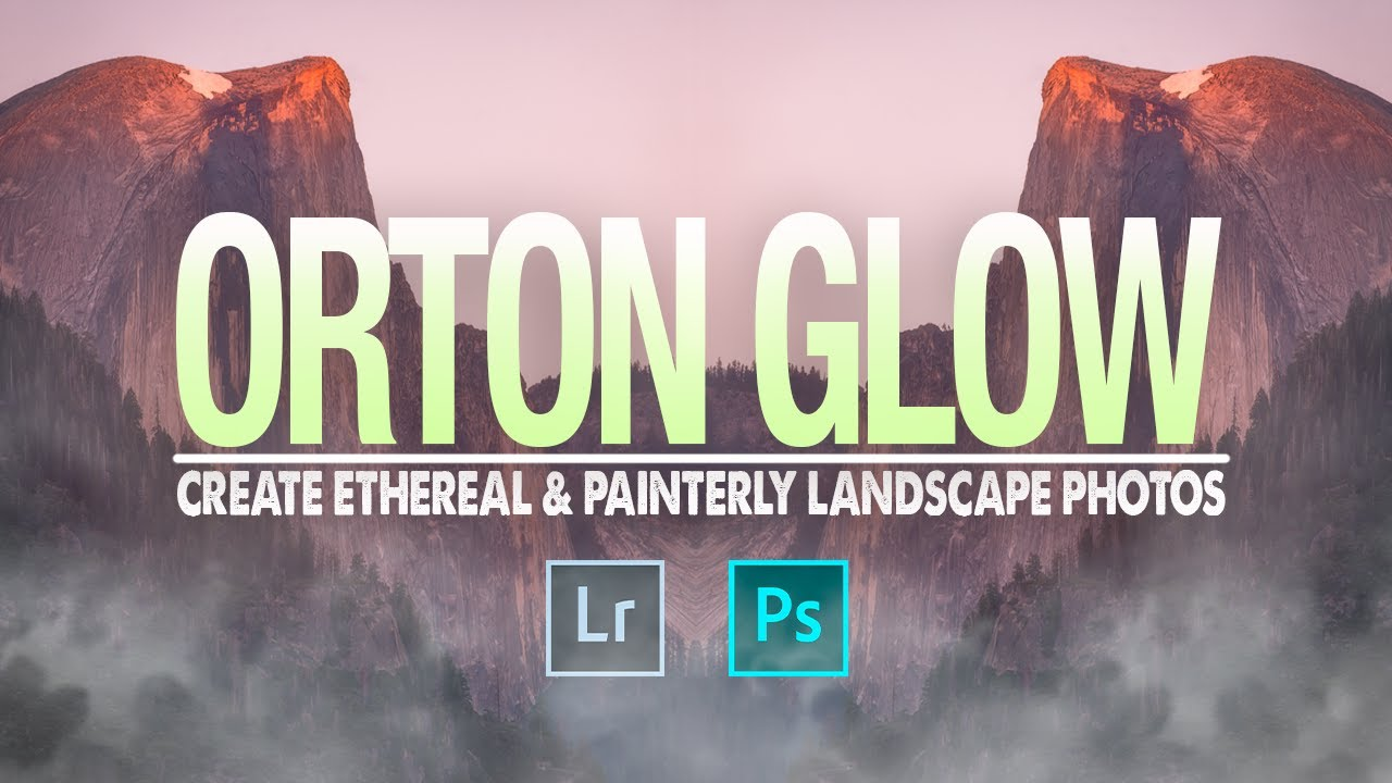 How to Add an ETHEREAL Glow for CALMING Landscape Photos