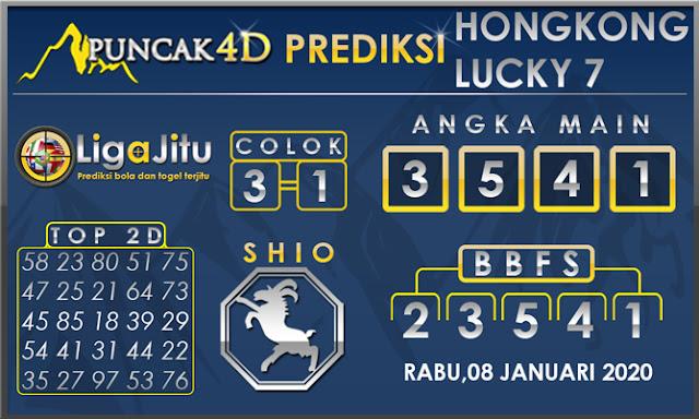 PREDIKSI TOGEL HONGKONG LUCKY7 PUNCAK4D 08 JANUARI 2020