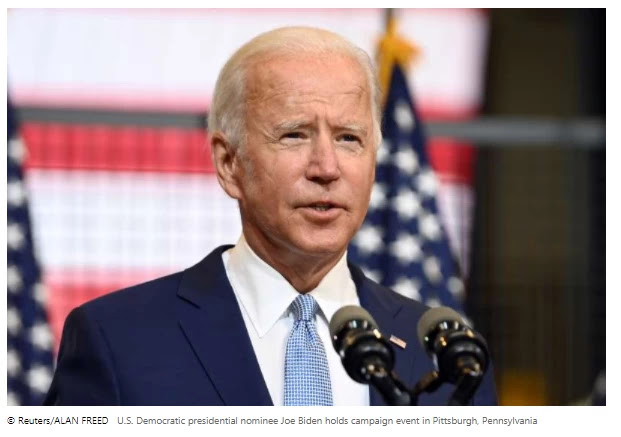 Facebook lifts ban on pro-Biden ad citing 'implementation error'