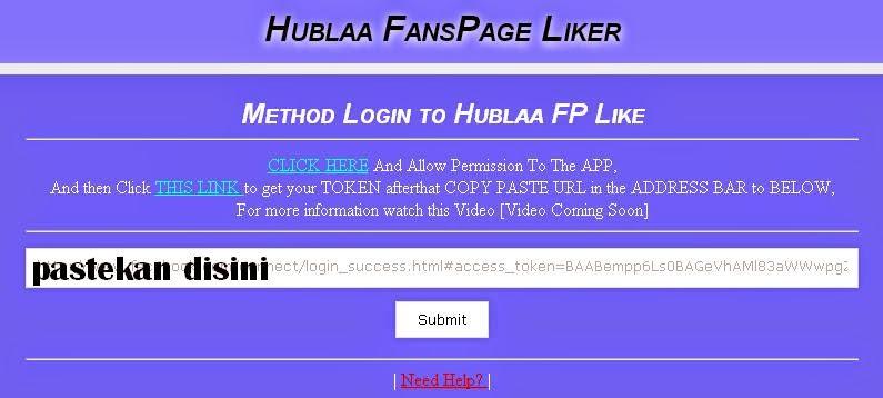 Cara Menggunakan Auto Like Fanspage