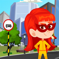 Games4King Superhero Kid Rescue 2