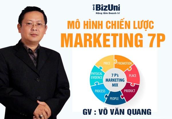 Share khóa học Mô hình chiến lược Marketing 7P