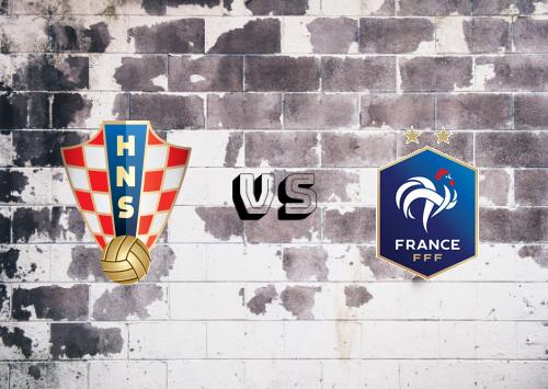 Croacia vs Francia  Resumen y Partido Completo