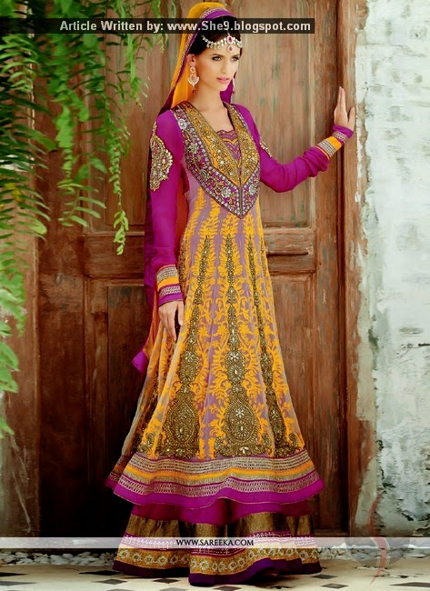 New Anarkali Dress Pictures