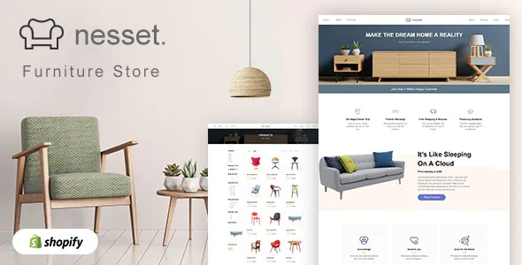 Best Minimal & Clean Furniture Store Shopify Theme