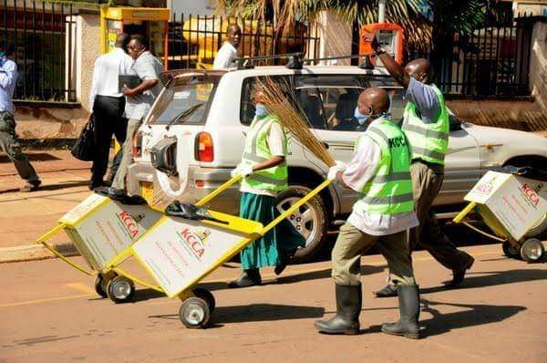 MUSISI EXIT : 700 KCCA WORKERS  FACE AXE