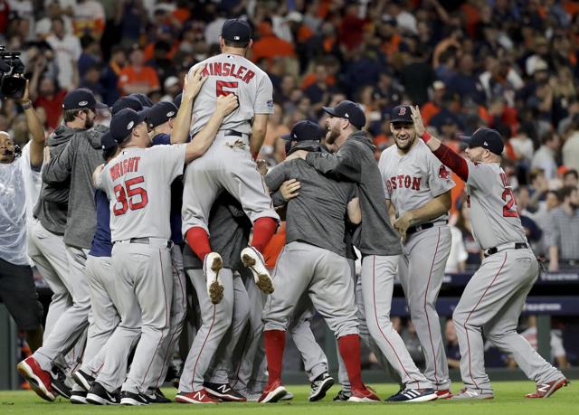 Medias Rojas vencen a los Astros y van a la Serie Mundial